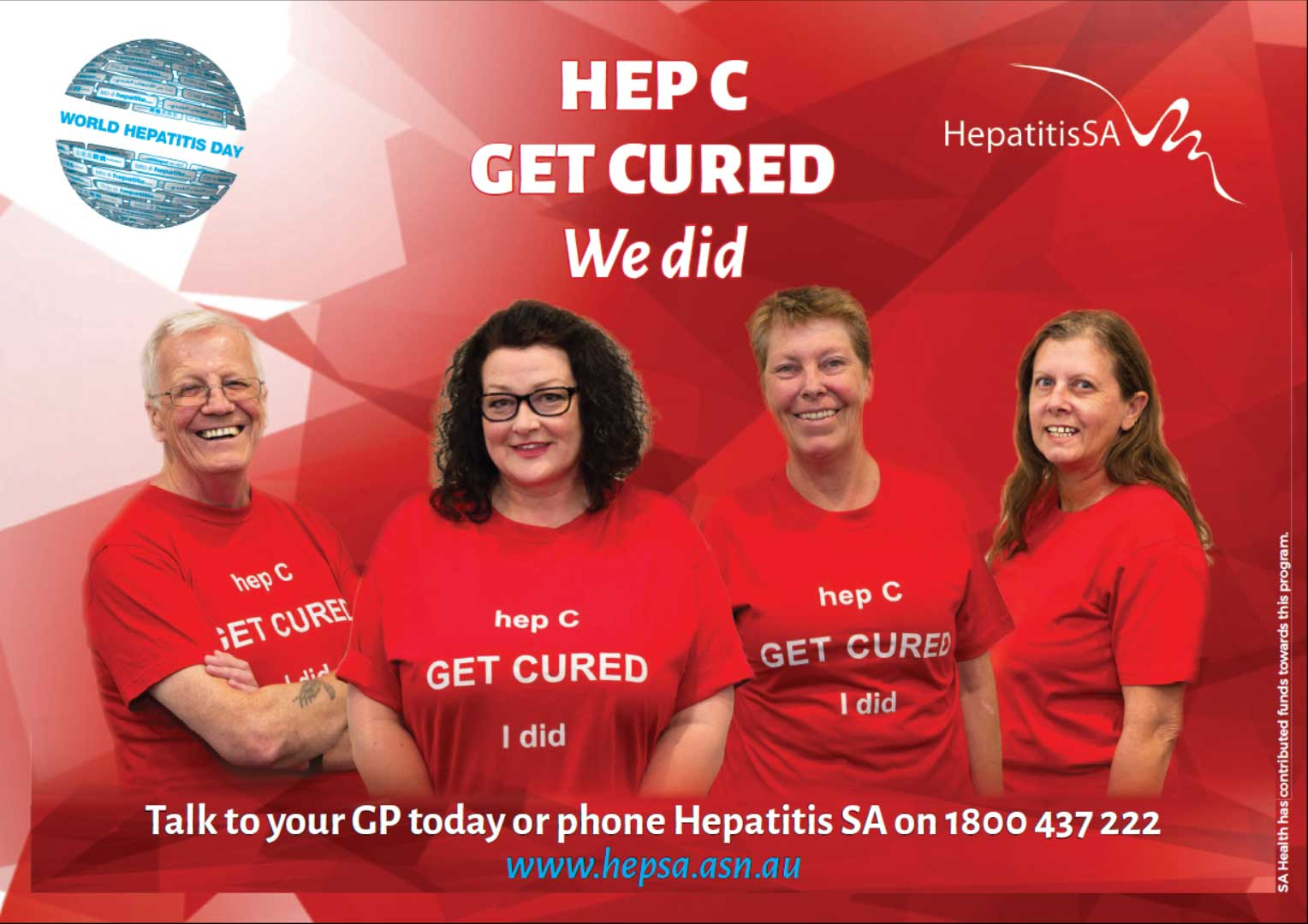 Hep C Get Cured poster